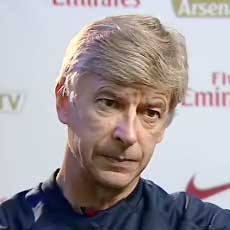 Wenger - Not too pleased...