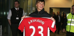 Arshavin - One really excited guy!